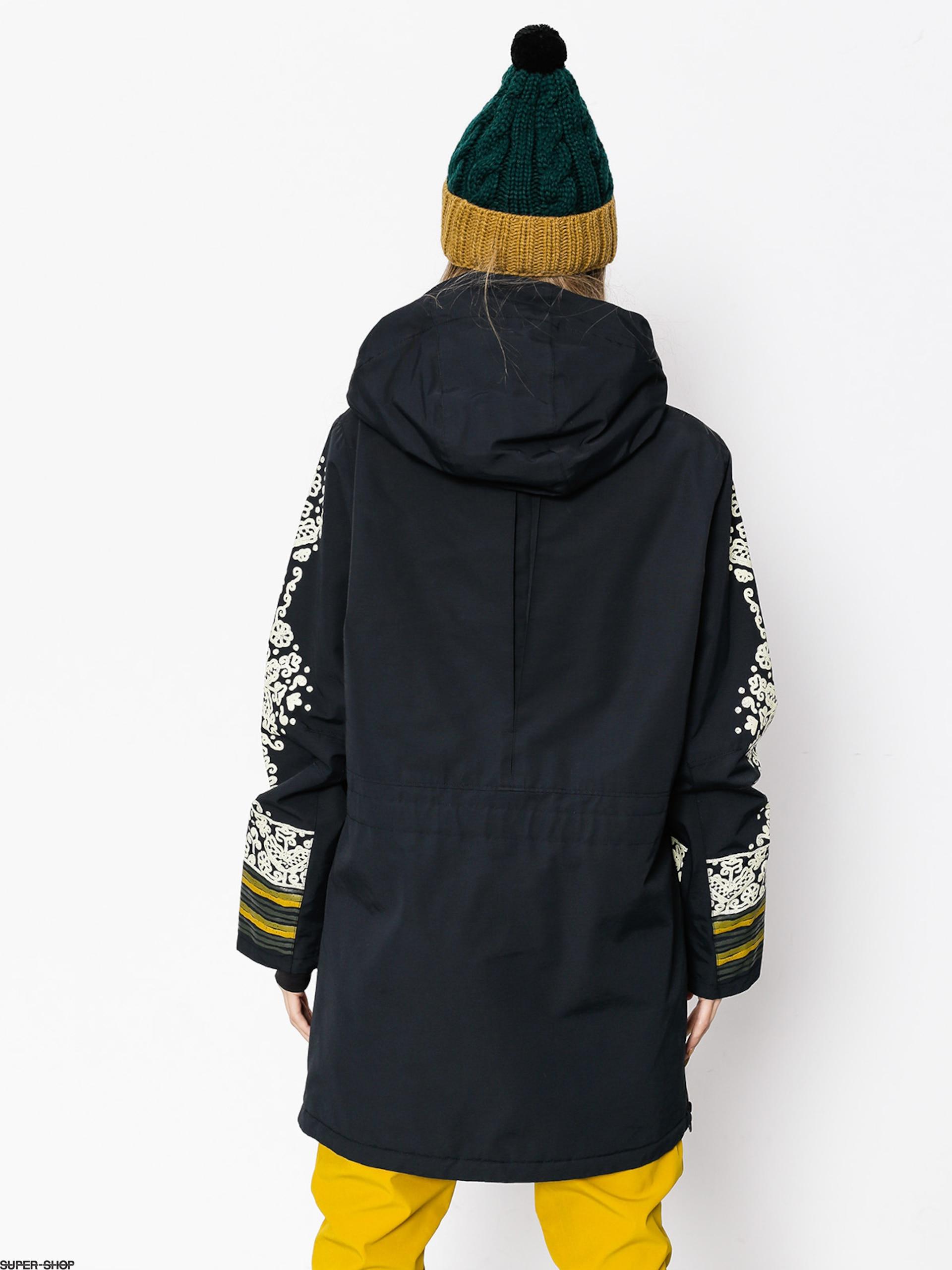Burton Snowboard Jacket Chuteout Anorak Wmn True Black