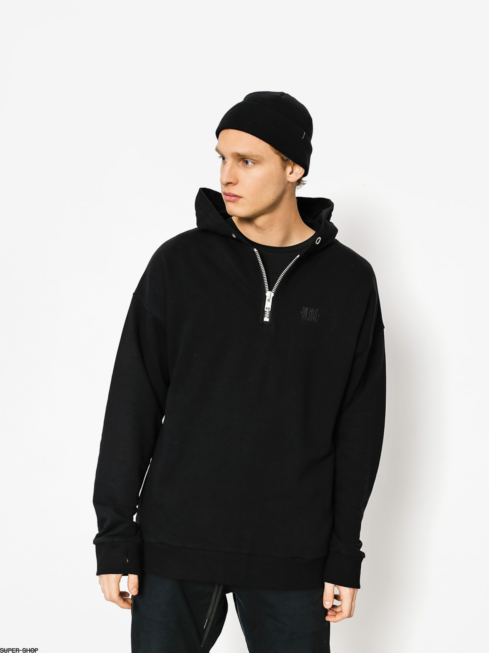 The Hive Hoody Zip Henley HD