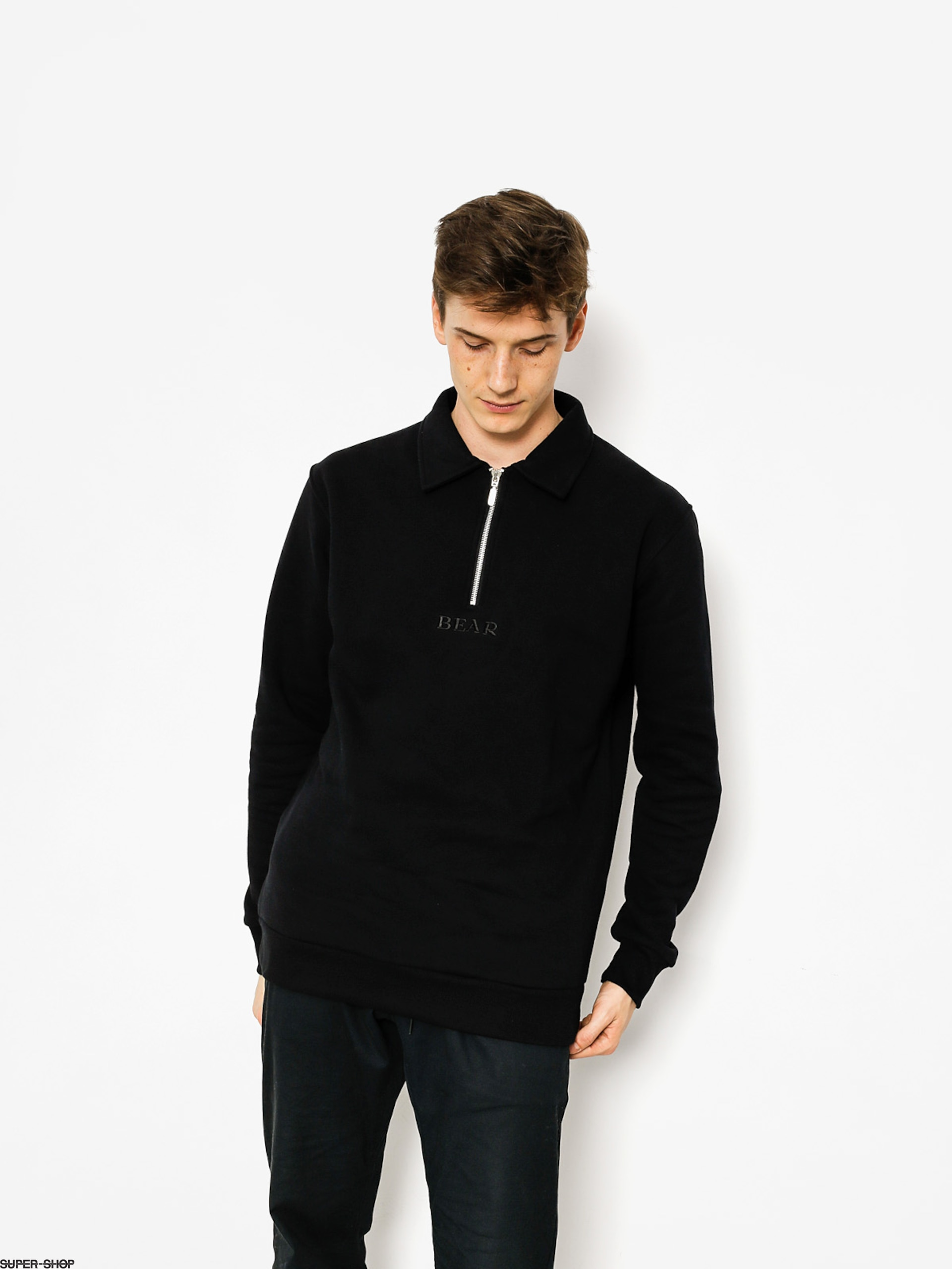 Bear HDWR Sweatshirt Racketeer Zip