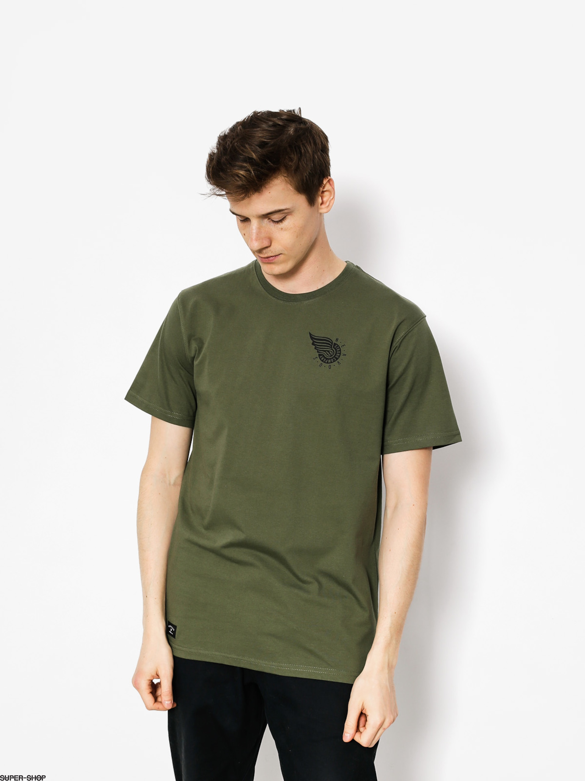 Nervous T-Shirt Wing (olive)