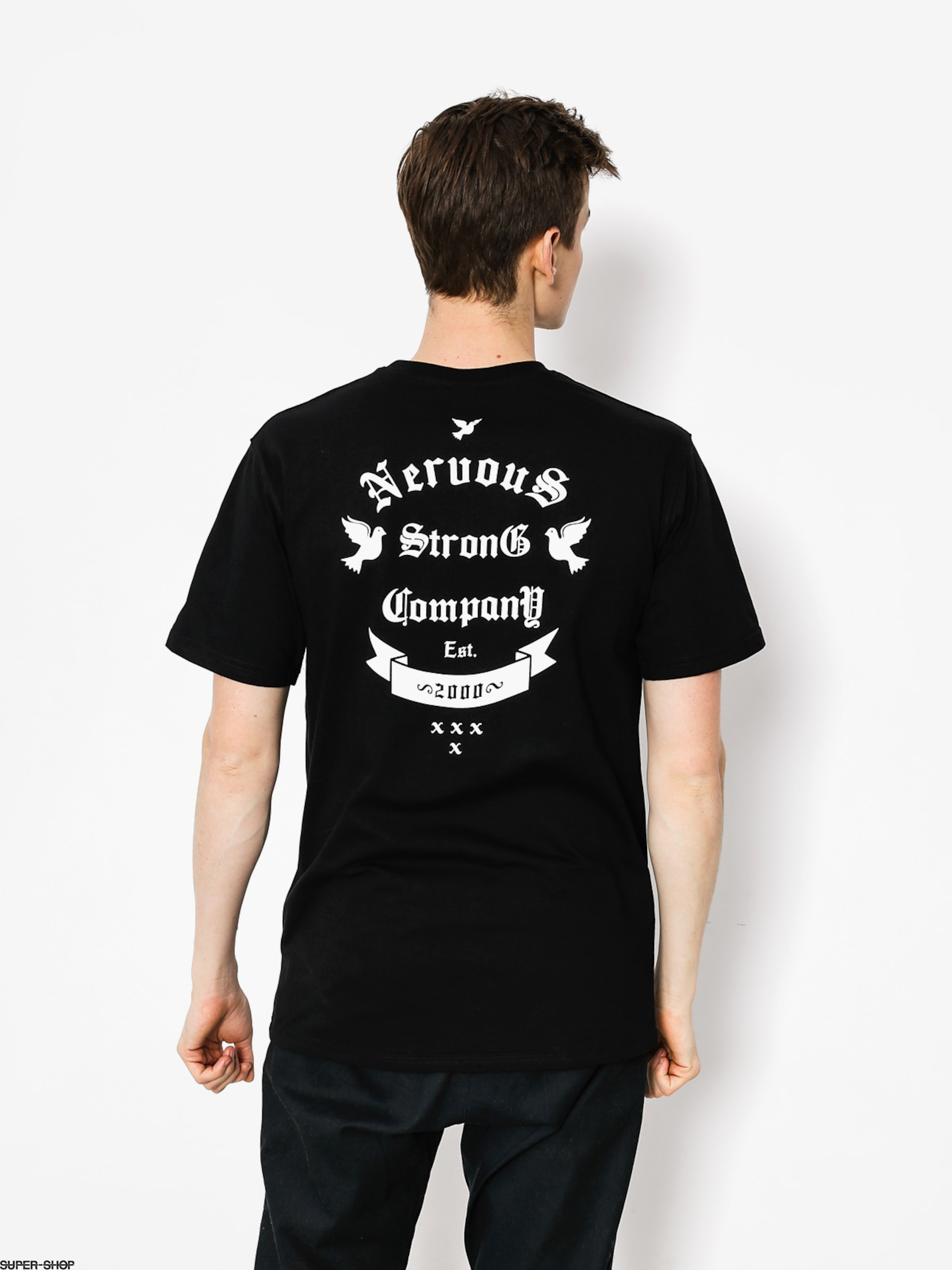Nervous T-Shirt Arms (black)