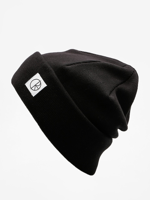 Polar Skate Beanie Double Fold Beanie (black)