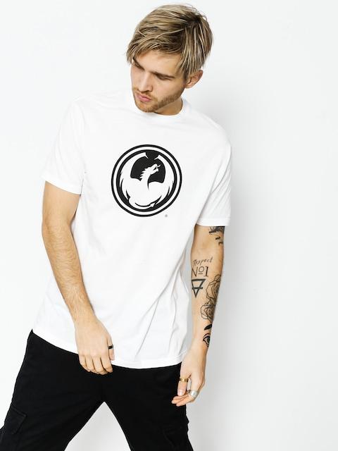 Dragon T-shirt Icon Staple Line (white)