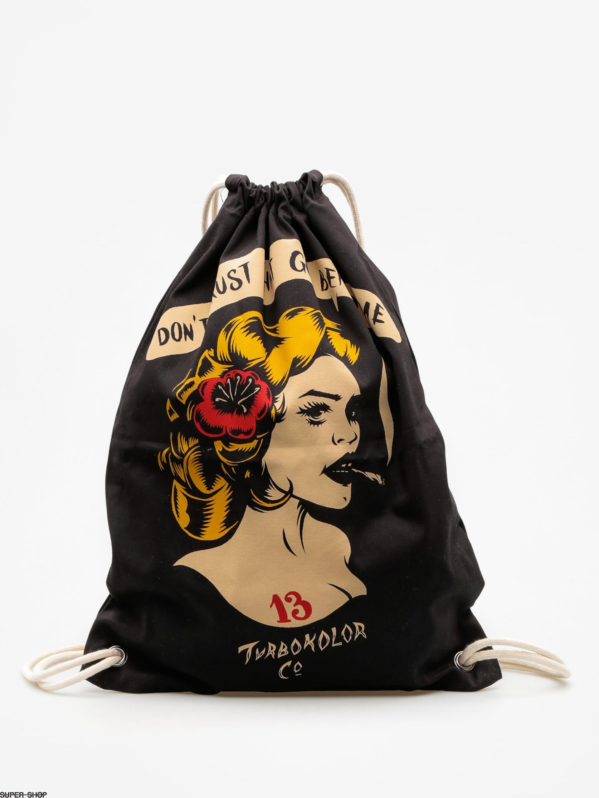 szczegółowe zdjęcia brak podatku od sprzedaży przyjazd Turbokolor Backpack Shoe Bag (trust black)