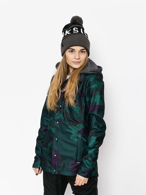 Volcom Jacket snowboardowa Circle Flannel Wmn (dca)
