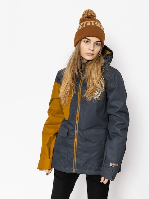Westbeach Snowboardjacke Flux Jacket Wmn (steel/brown sugar)
