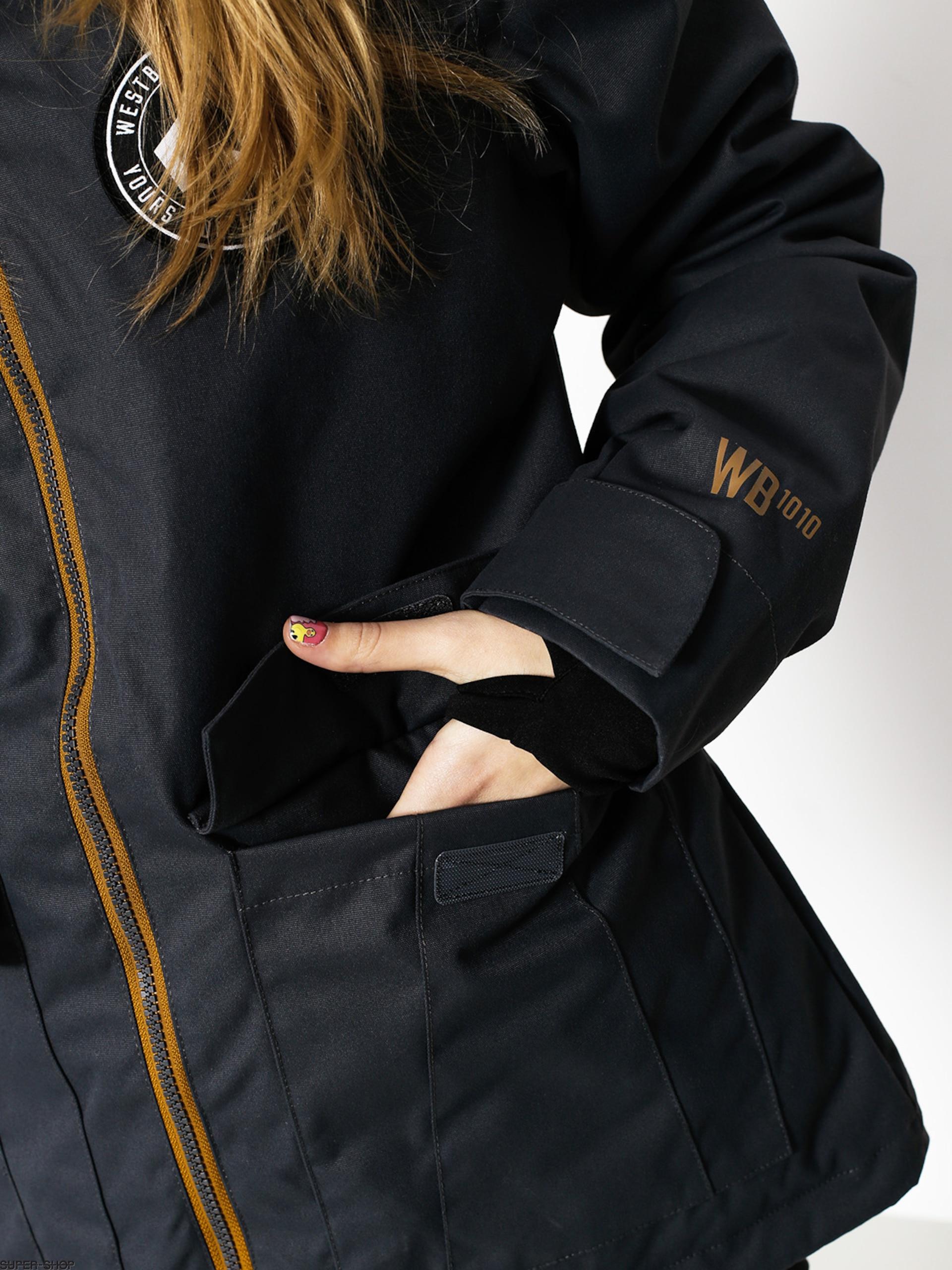 13804f684a Westbeach Snowboard jacket Flux Jacket Wmn (steel/brown sugar)