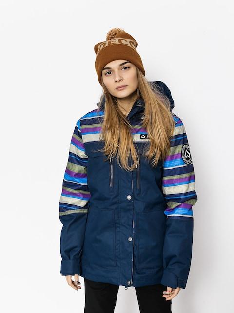 Westbeach Snowboardjacke Waltz Jacket Wmn (ultramarine/multi colour aztec)