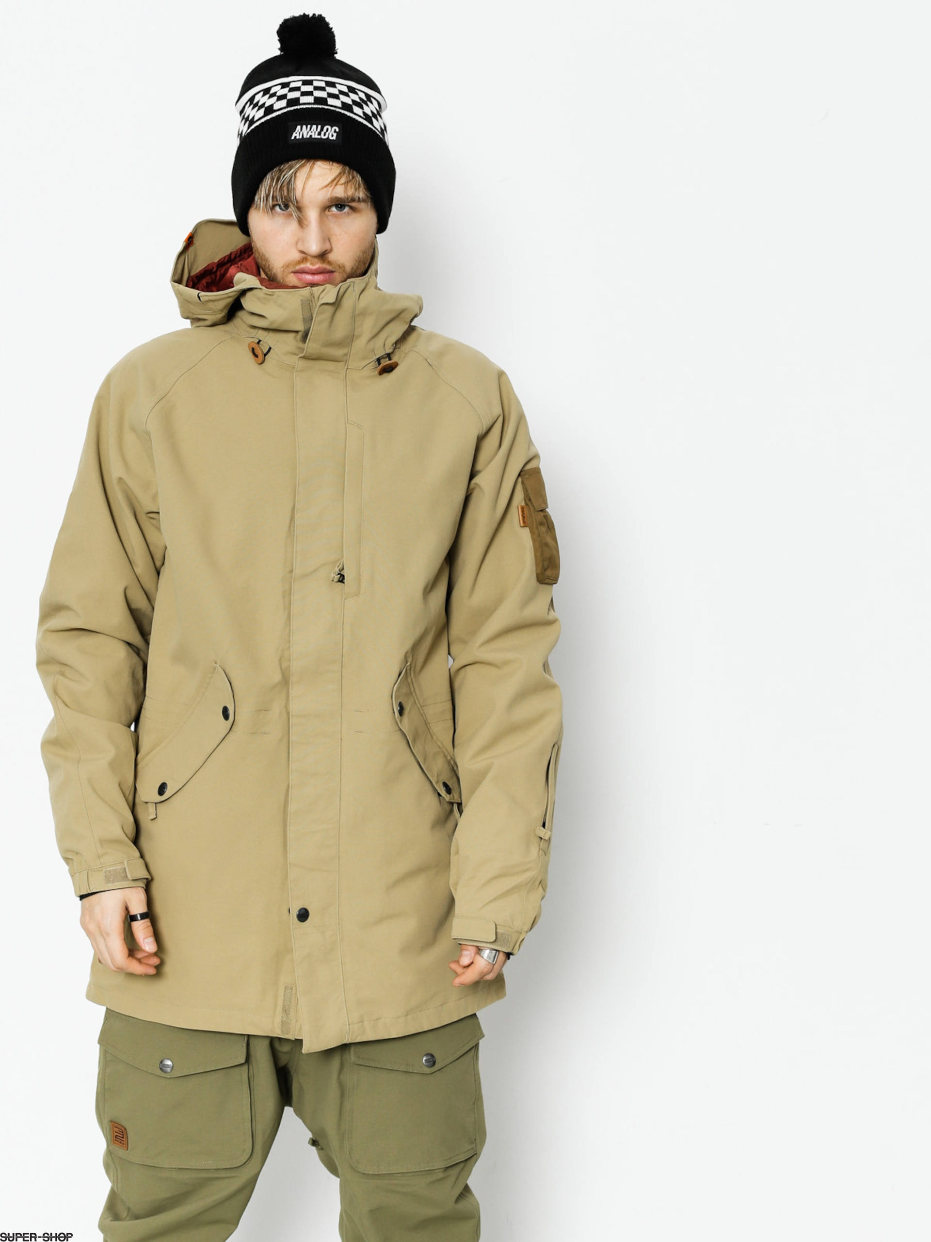 ThirtyTwo Snowboardjacke Deep Creek (sand)