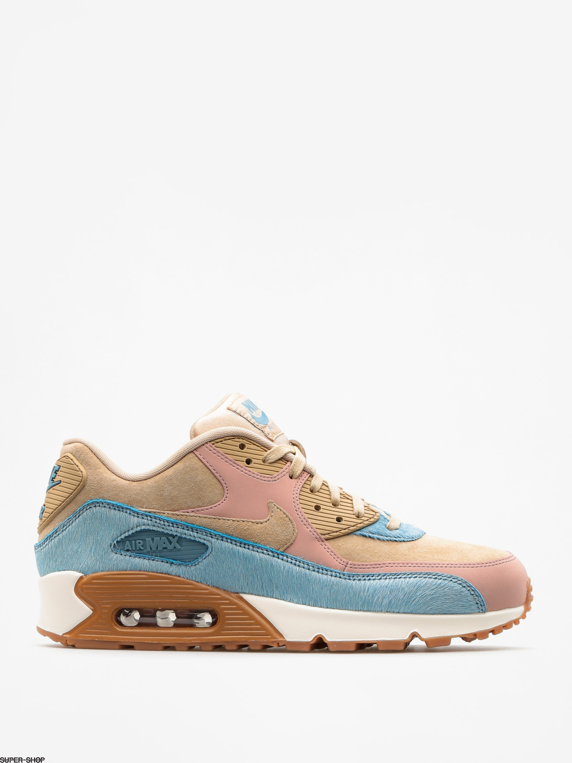 Nike Shoes Air Max 90 Lx Wmn (mushroom/mushroom smokey blue)