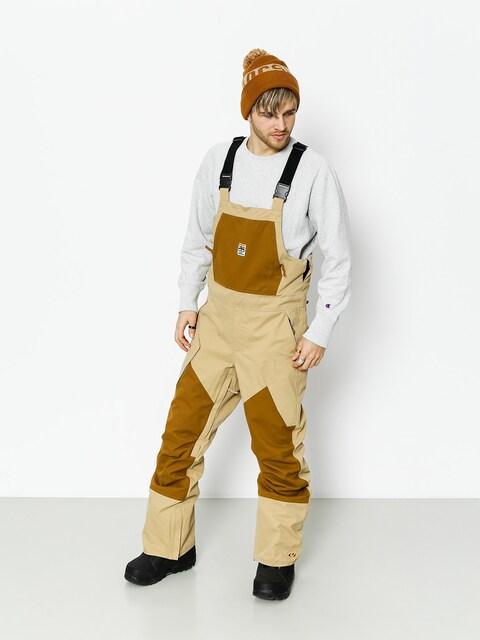 ThirtyTwo Snowboard pants Basement Bib (tan)