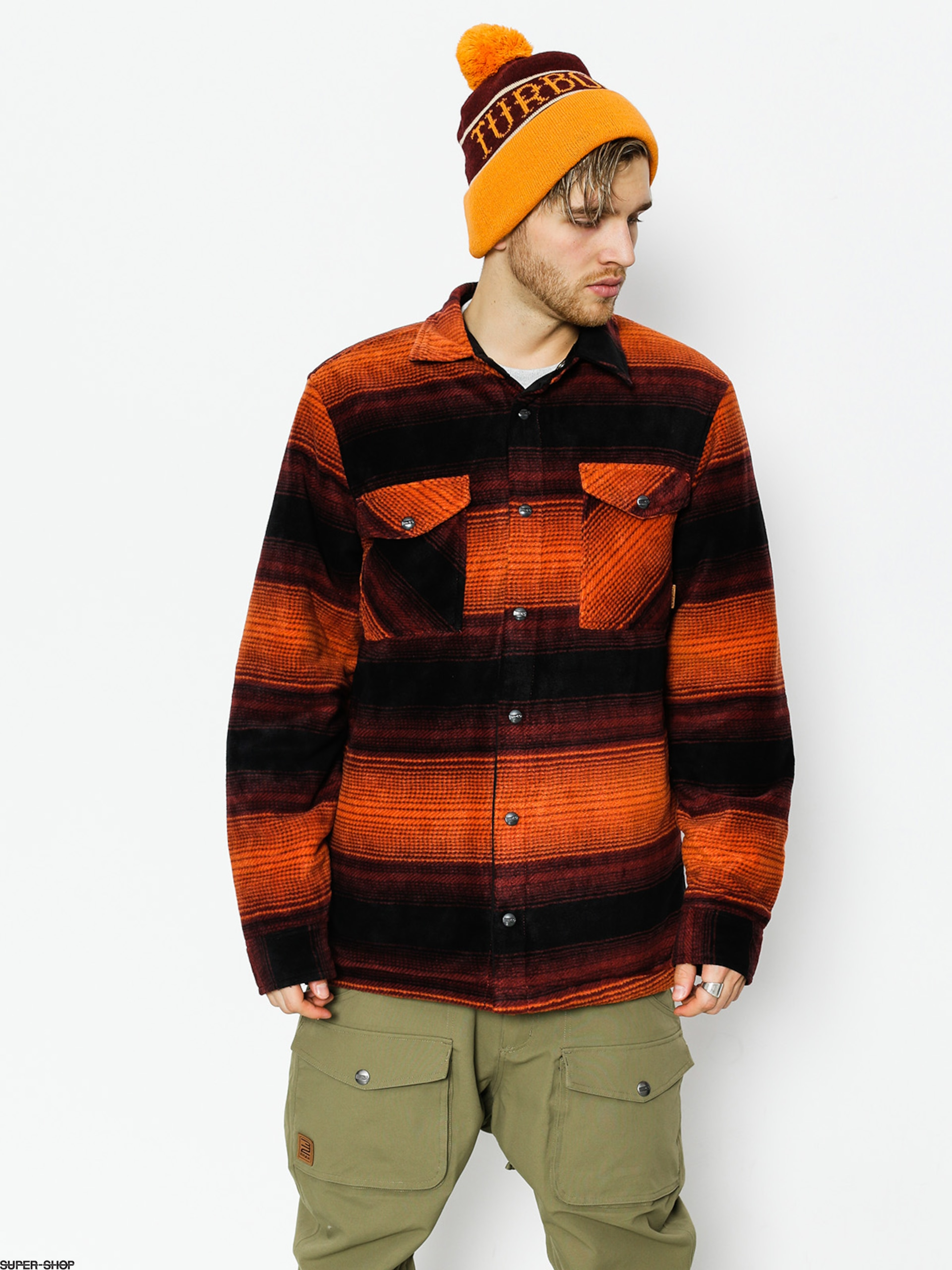 ThirtyTwo Active sweatshirt Drifter Polar (oxblood)