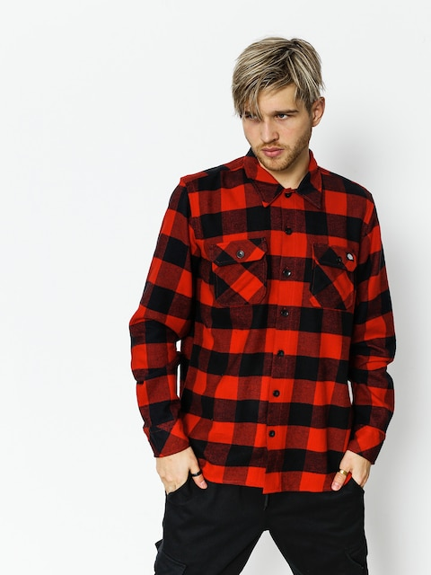 Dickies Shirt Sacramento (red)