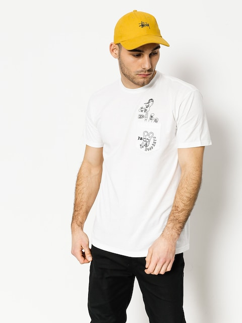 ThirtyTwo T-Shirt Hood Rats Hood Or Bust Pocket (white)