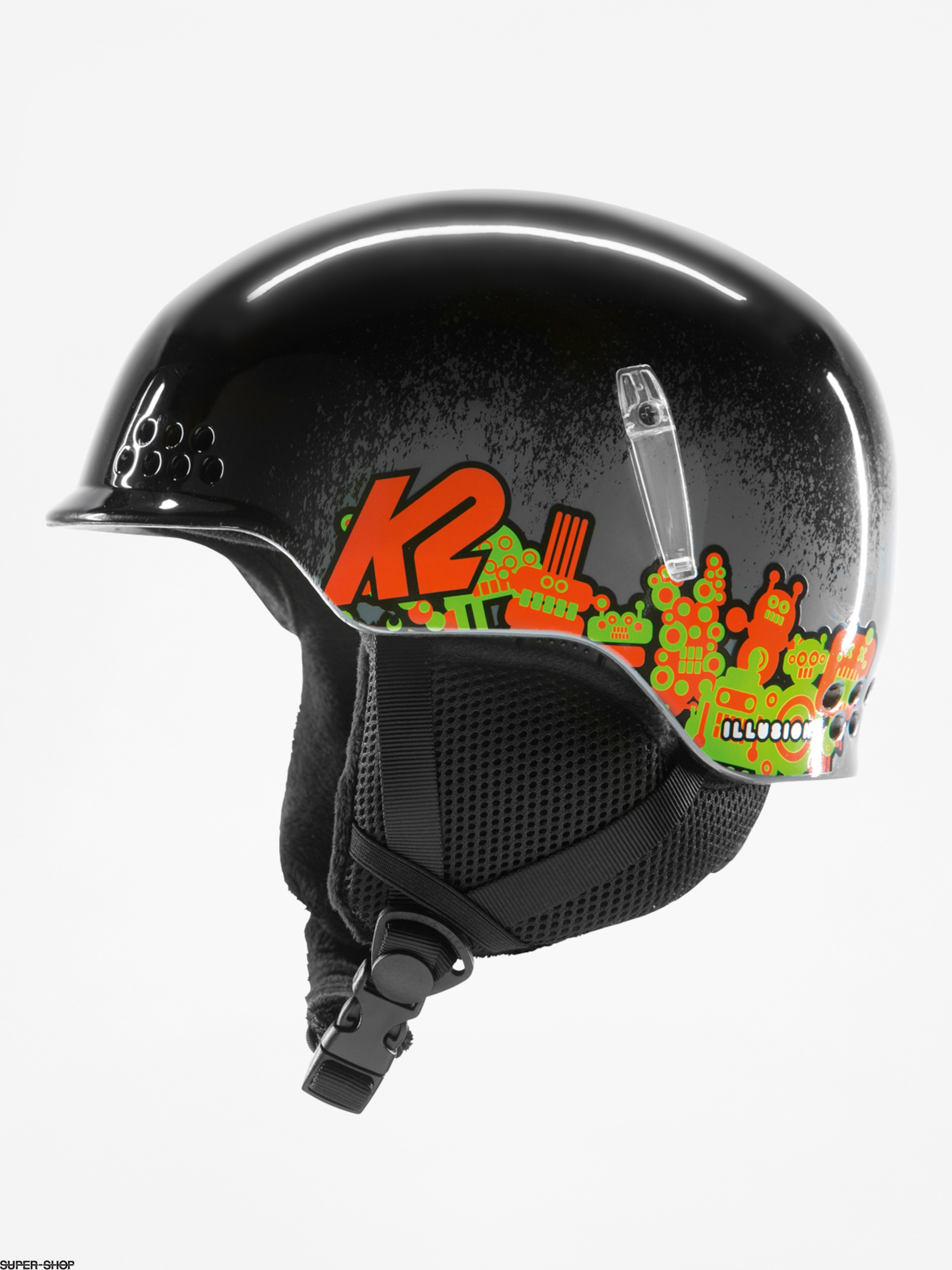 K2 Helm Illusion (black)