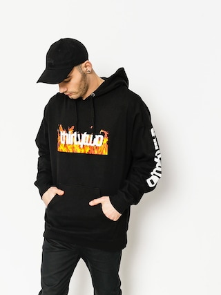ThirtyTwo Hoody Double Box Flames (black)