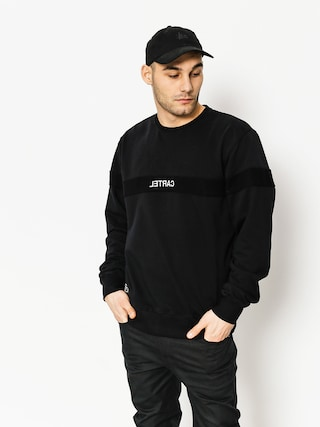 Backyard Cartel Sweatshirt Cream (black)