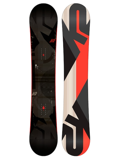 K2 Snowboard Standard (grey/red)