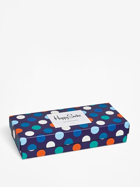 Happy Socks Socks Giftbox 4pk (navy/blue/white)