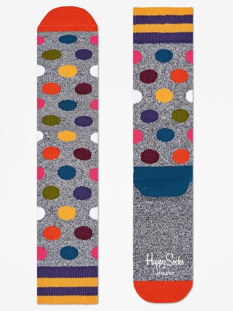Happy Socks Socks Athletic Big Dot (grey/multi)