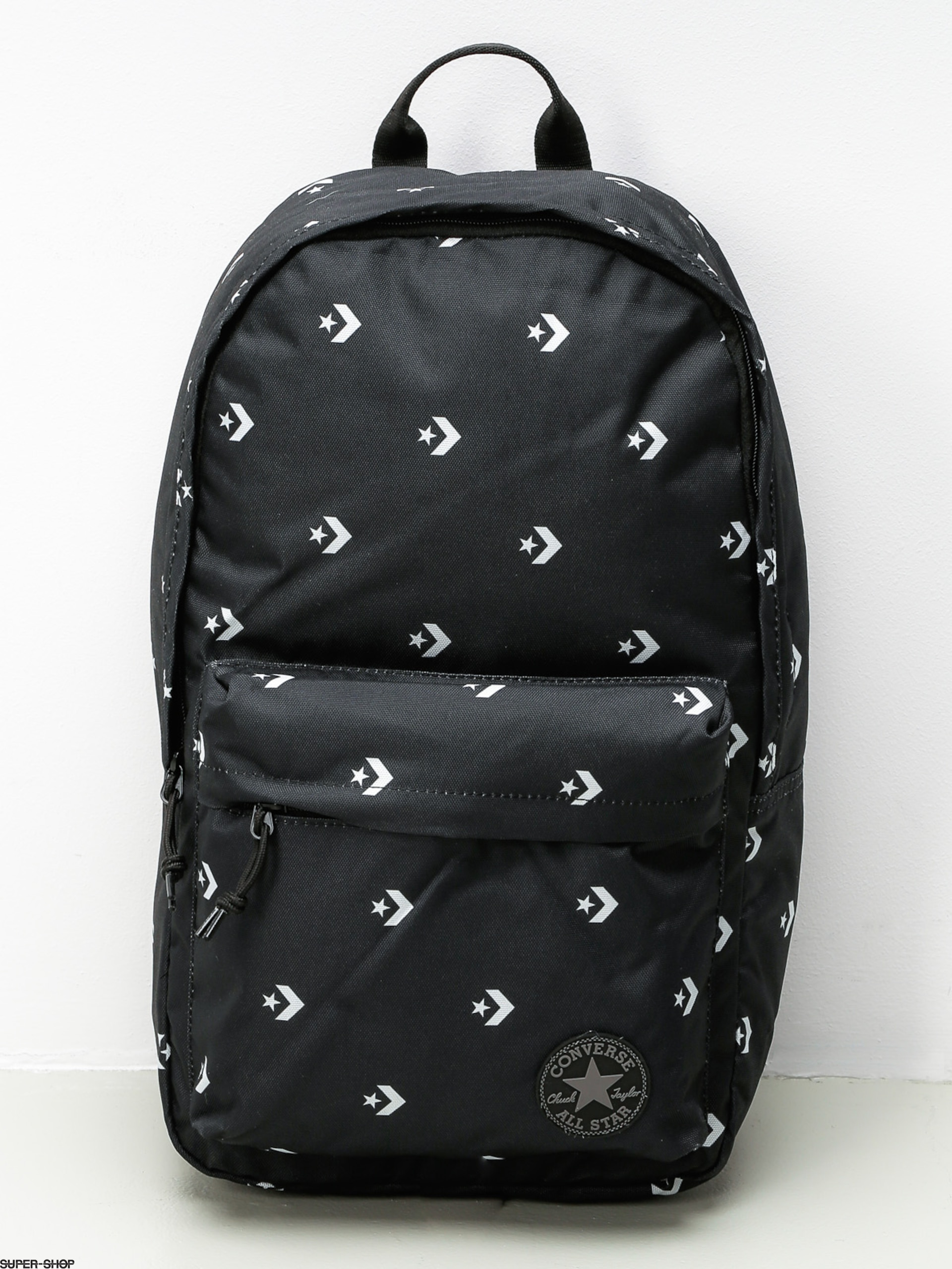 Converse Rucksack Edc Poly (star chevron repeat black)