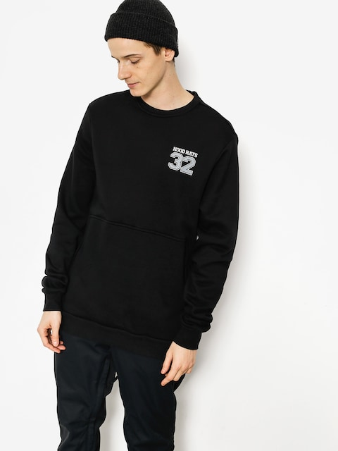 ThirtyTwo Sweatshirt Hood Rats Team Crew (black)