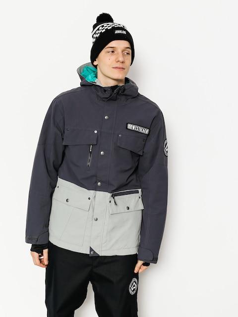 Westbeach Snowboard jacket Trojan Jacket (steel/grey skies)