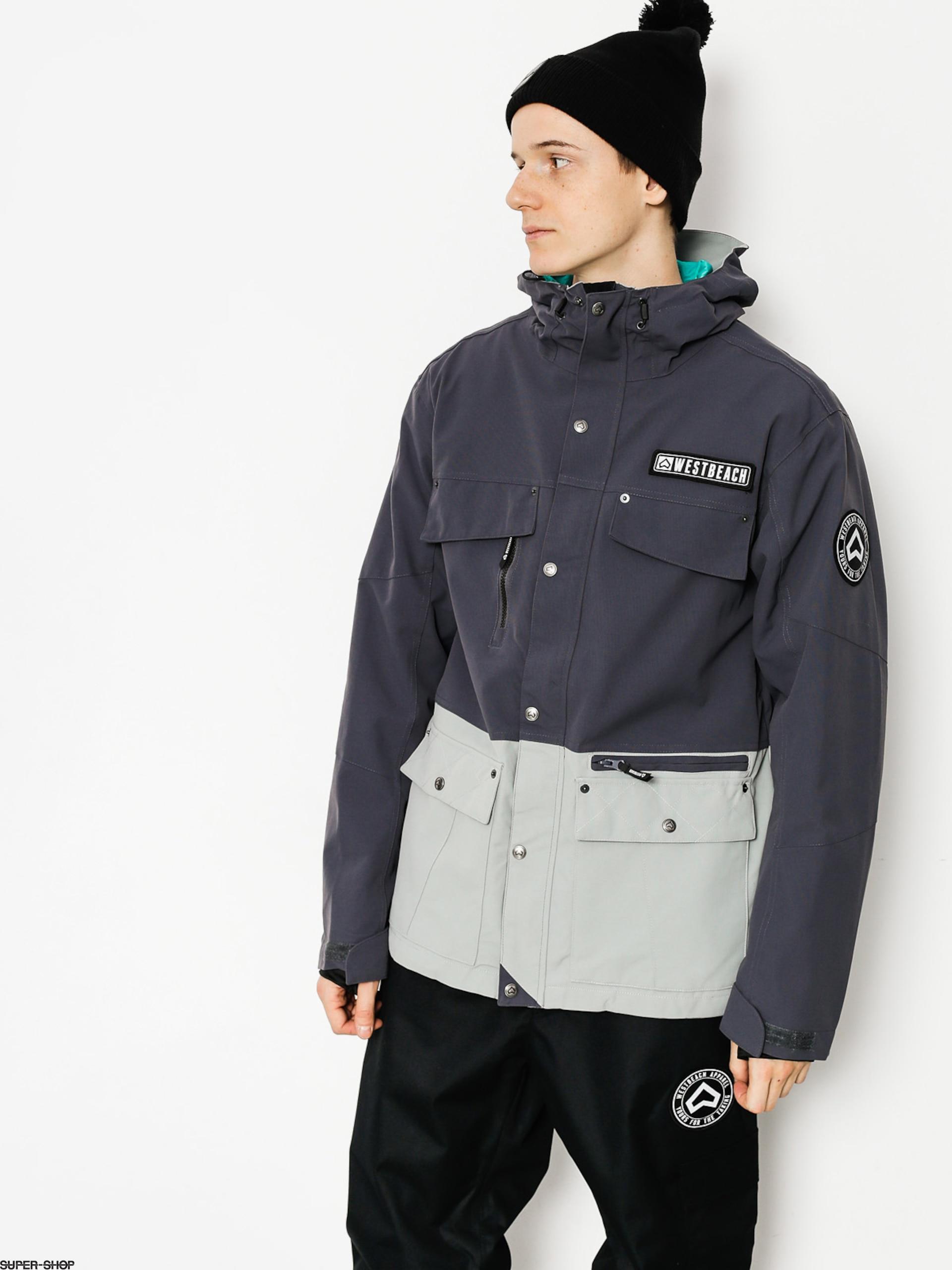 Westbeach Jacket steelgrey Skies Trojan Snowboard x4qOg8xwZ