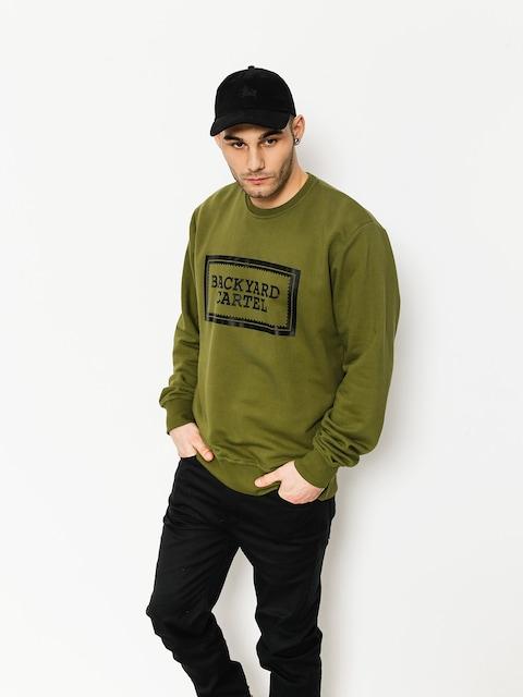 Backyard Cartel Sweatshirt Label Logo (khaki)
