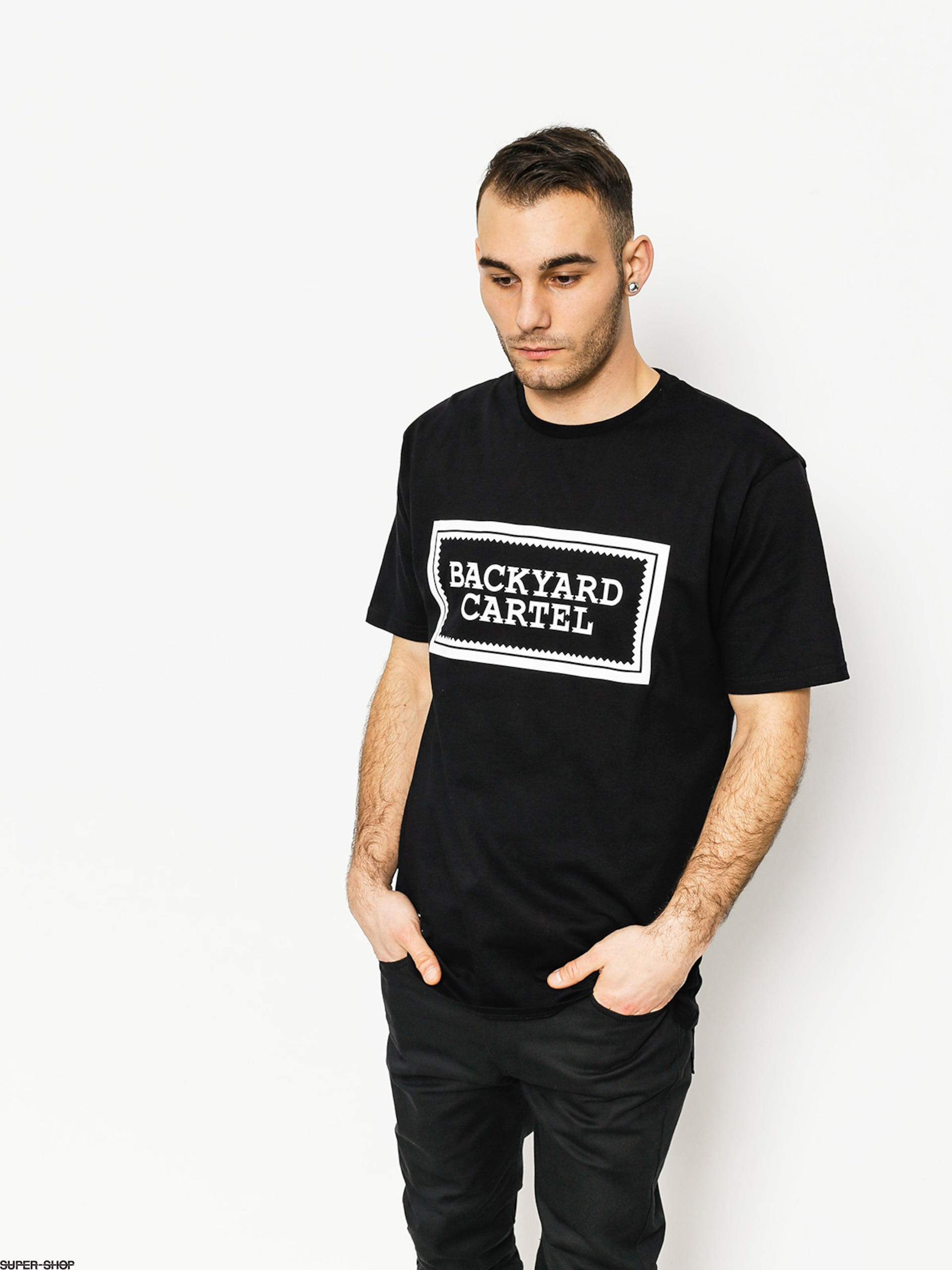 Backyard Cartel T-shirt Label Logo