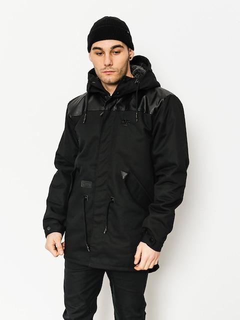 Backyard Cartel Jacket Parka Long Fit (black)