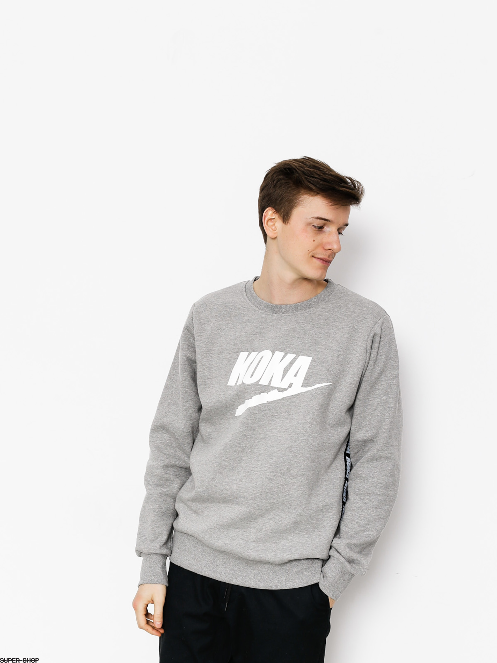 Koka Sweatshirt Fake Tape