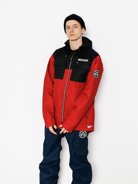 Westbeach Snowboardjacke Dauntless Jacket (chilli red/black)