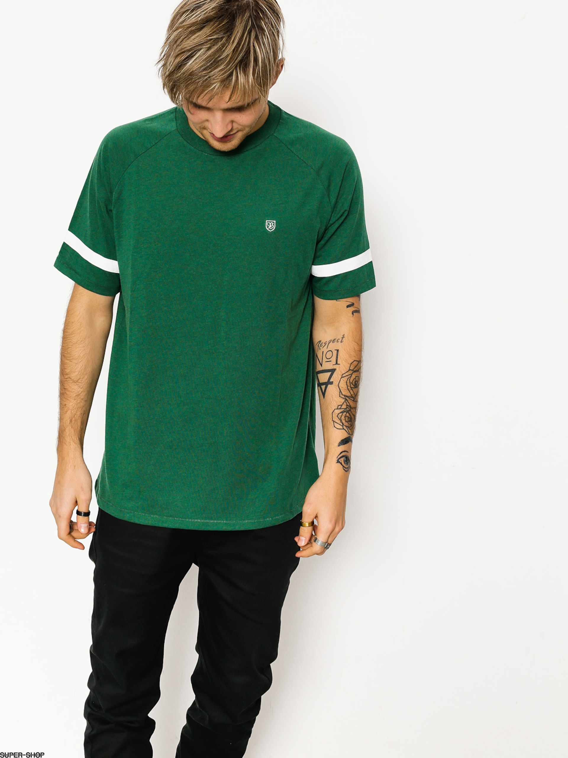 Brixton T-shirt Malden (heather forest)