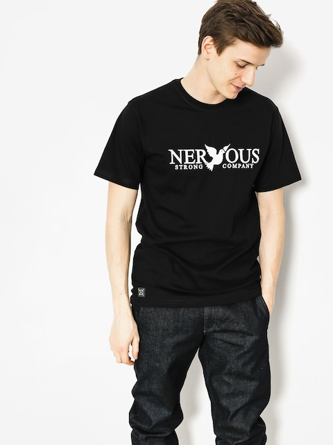 Nervous T-shirt Classic (black)