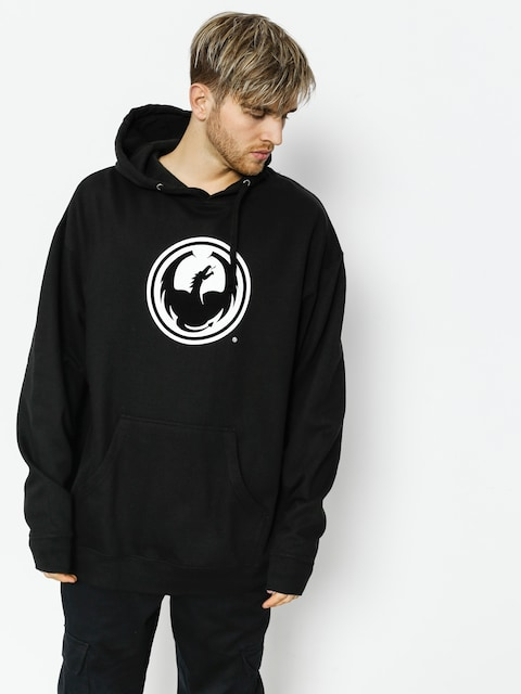 Dragon Hoodie Icon Pullover Hood Staple Line (black)