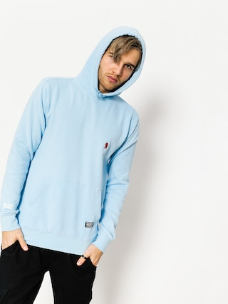 Grizzly Griptape Hoody Og Bear Embrioidered HD (blue)