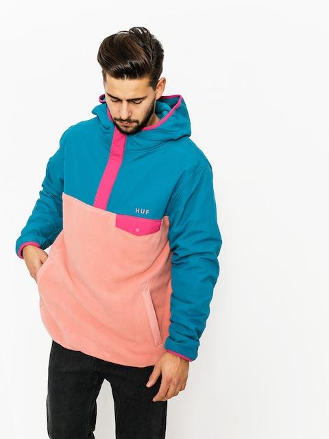 HUF hoodie Fleece Muir (dark teal)