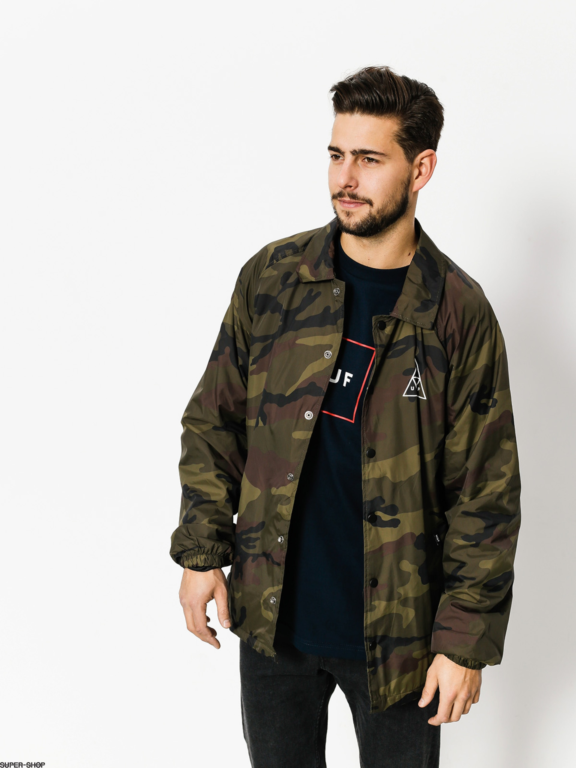 HUF Jacket Triple Triangle (camo)