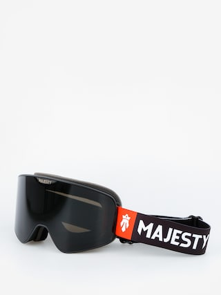 Majesty Goggles The Force (black/black pearl lens citrine spare lens)