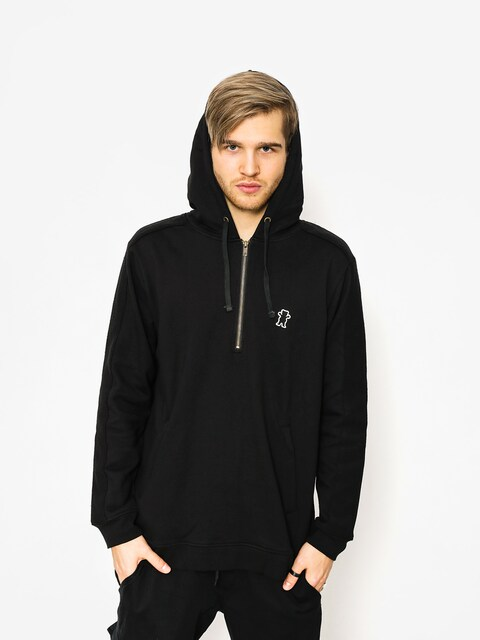 Grizzly Griptape Hoodie Citadel Half Zip HD (black)
