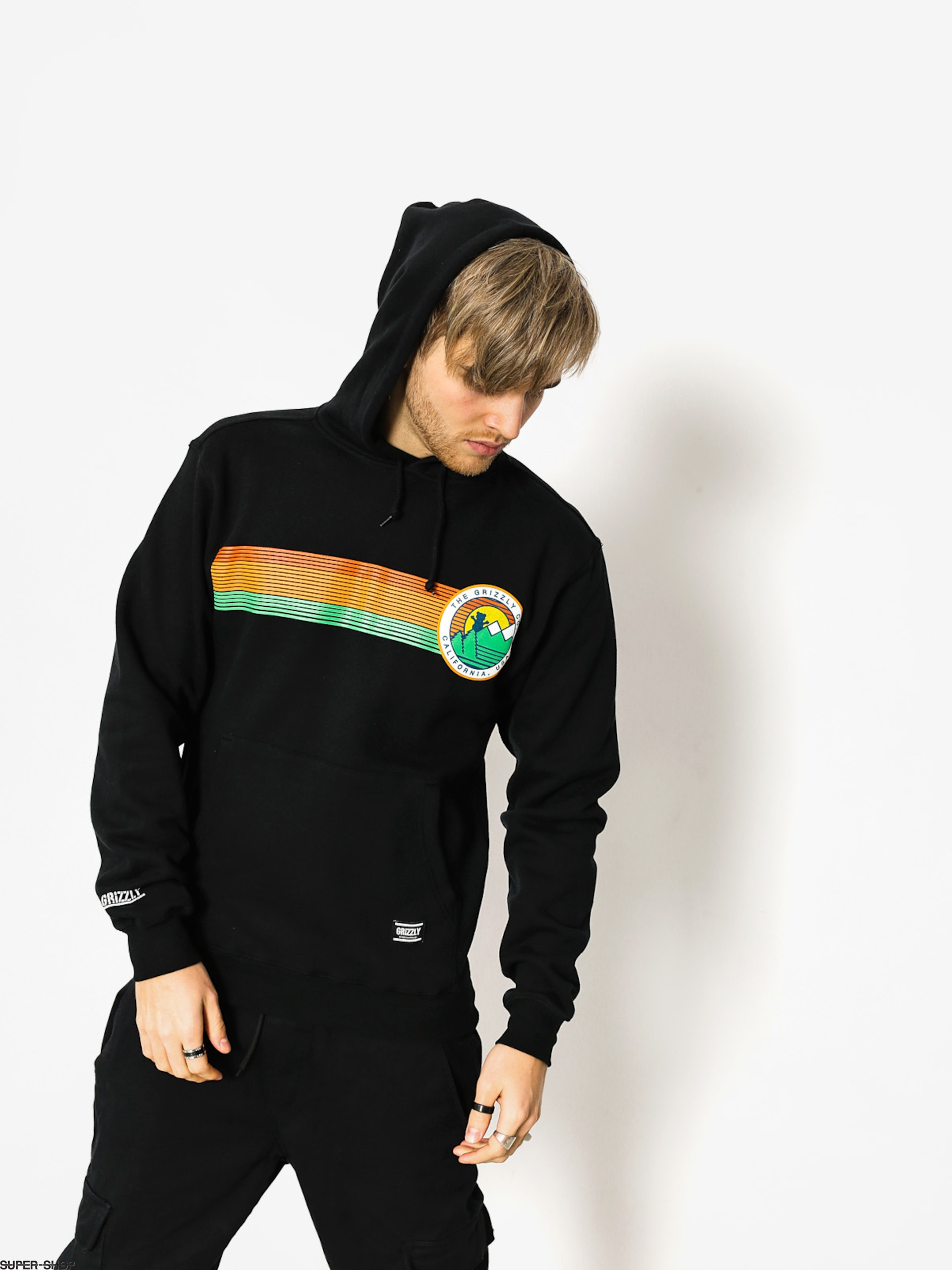 Grizzly Griptape Hoodie Beyond The Bush HD