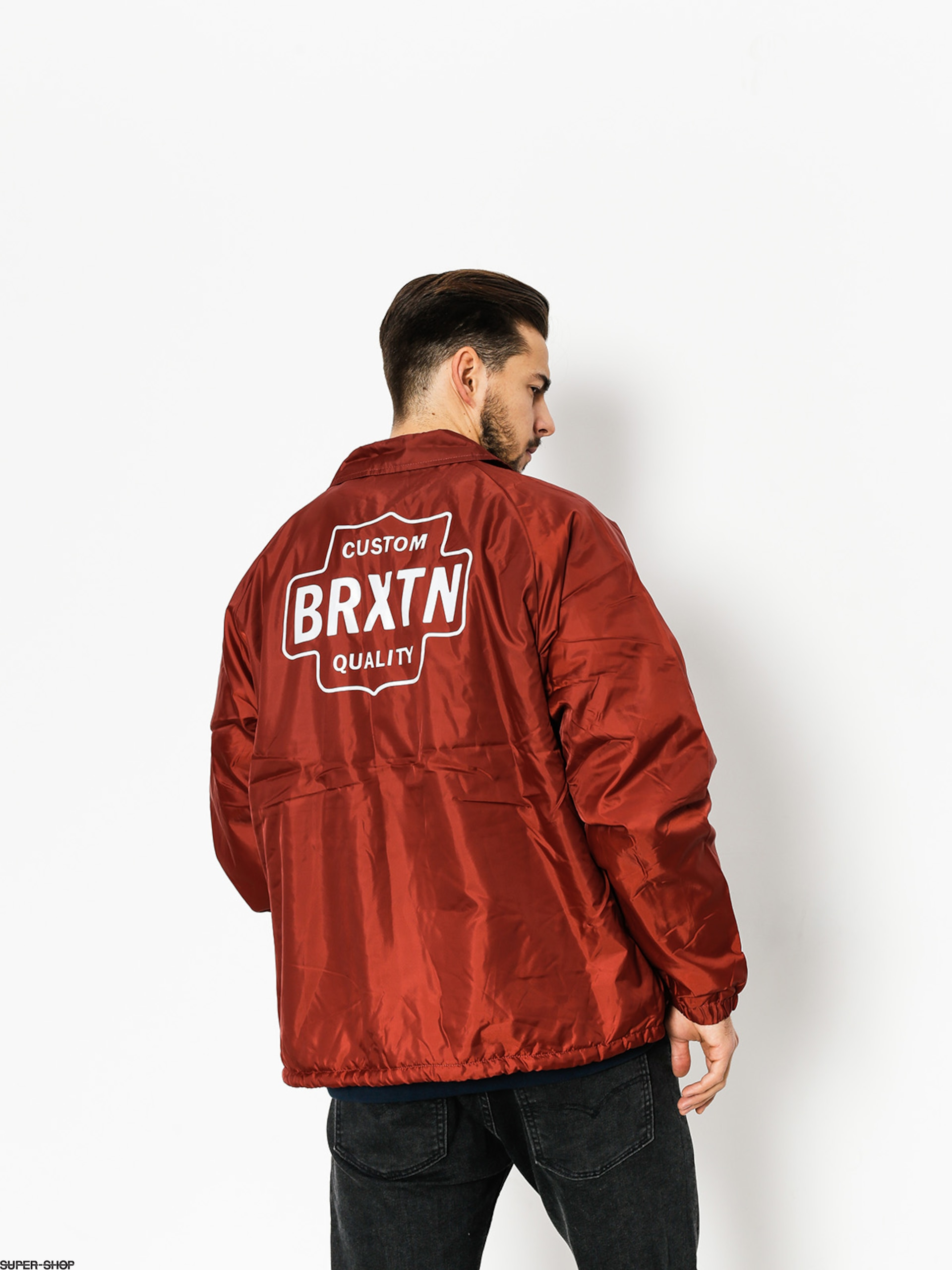 Brixton Jacket Garth (brick)