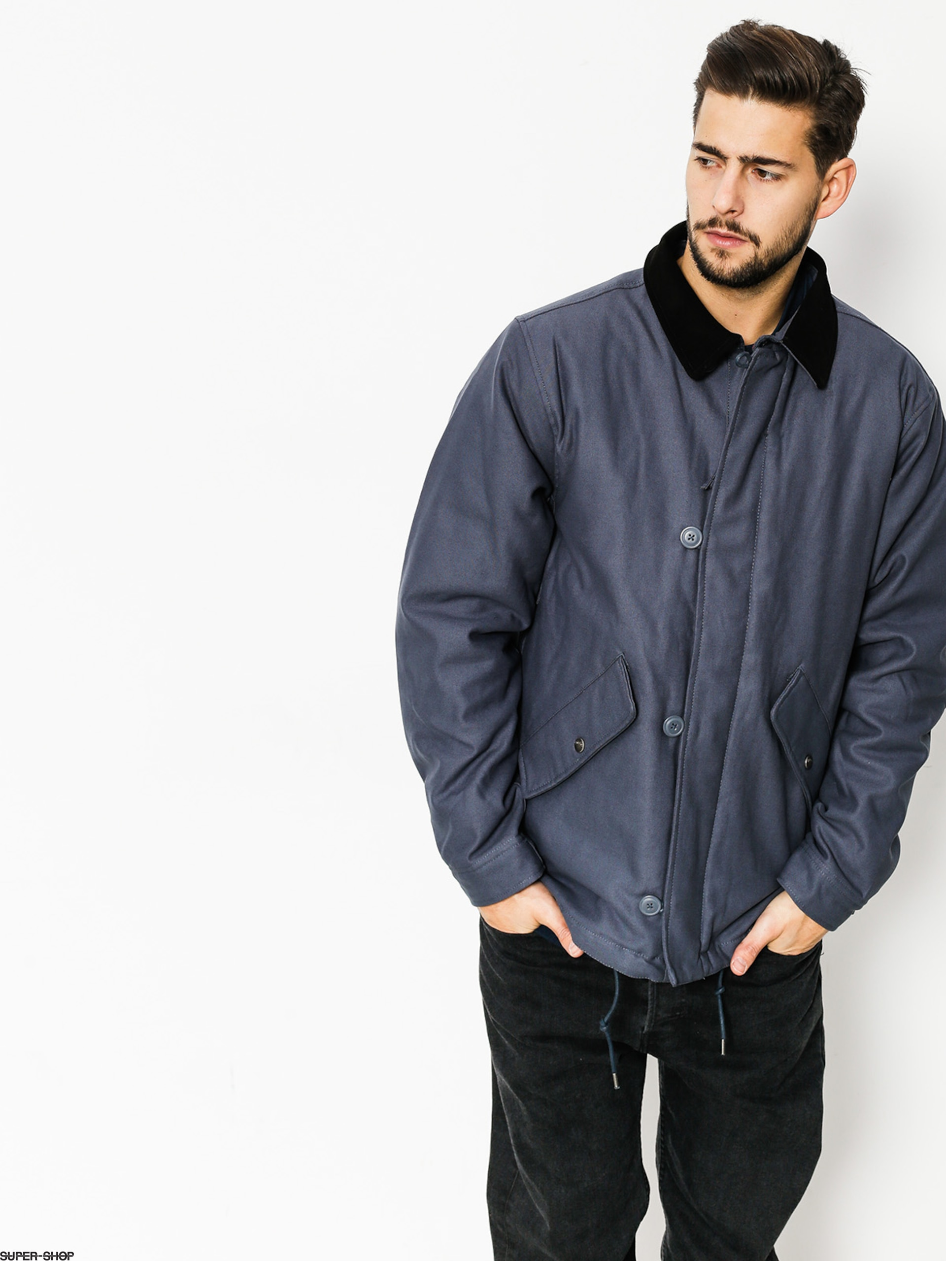 Brixton Jacket Apex (steel blue)