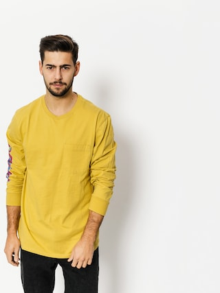 Brixton Longsleeve Accelerate Pkt (washed yellow)