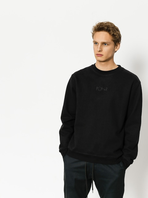 Polar Skate Sweatshirt Heavyweight Default Crewneck (black)