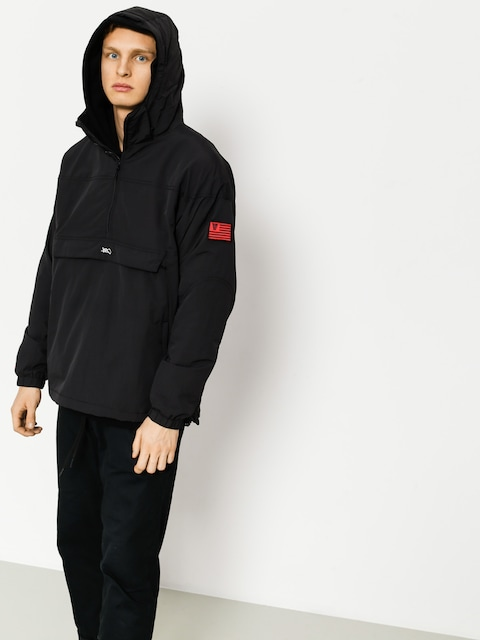 K1x Jacke Lw Urban Hooded Halfzip (black)