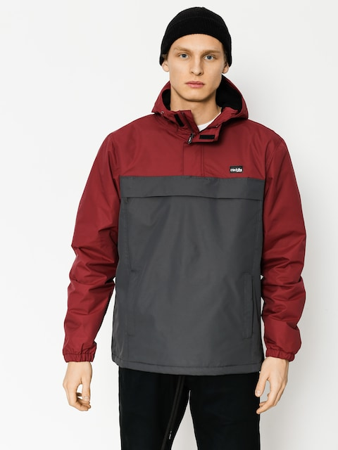 Iriedaily Jacket Insulaner Breaker (anthra red)