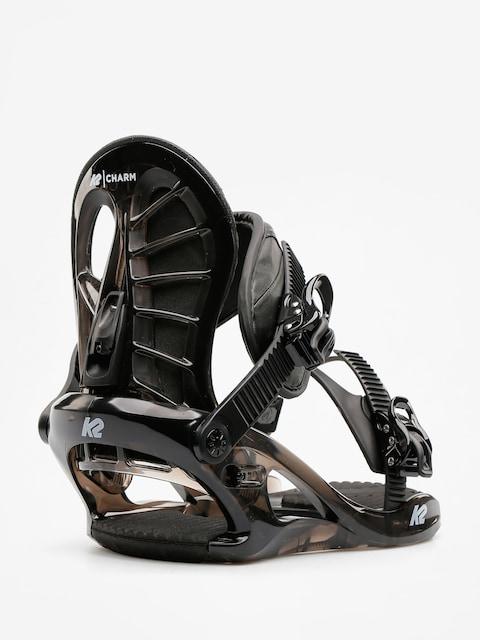 K2 Snowboardbindung Charm Wmn (black)