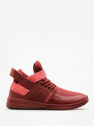 Supra Shoes Skytop V (brick red/brick red)